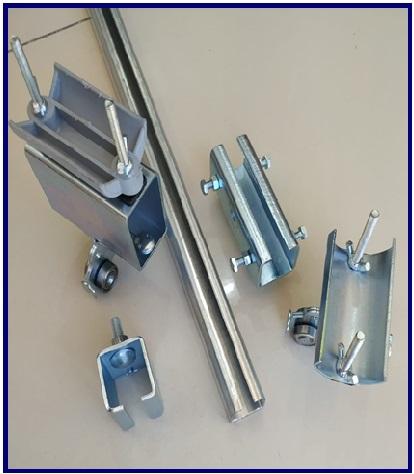 C Profil Korniş Tip Kablo Taşıma Sistemleri